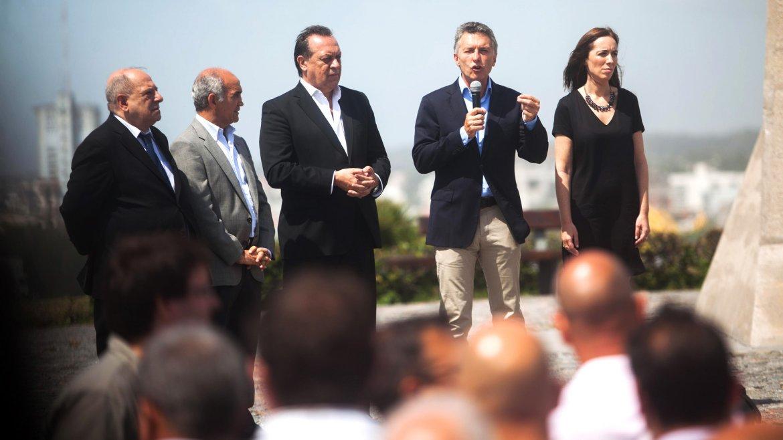El presidente Mauricio Macri encabezó, en la ciudad de Mar del Plata, el acto de lanzamiento de la temporada de verano 2016