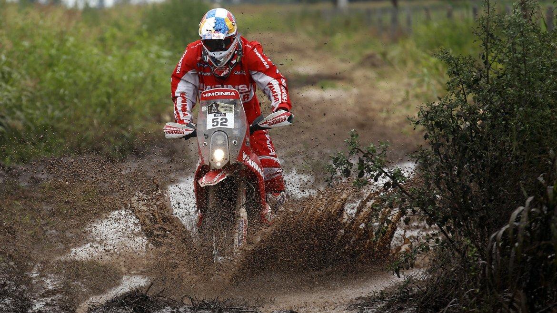 El corredor español español Iván Cervantes Montero (KTM)