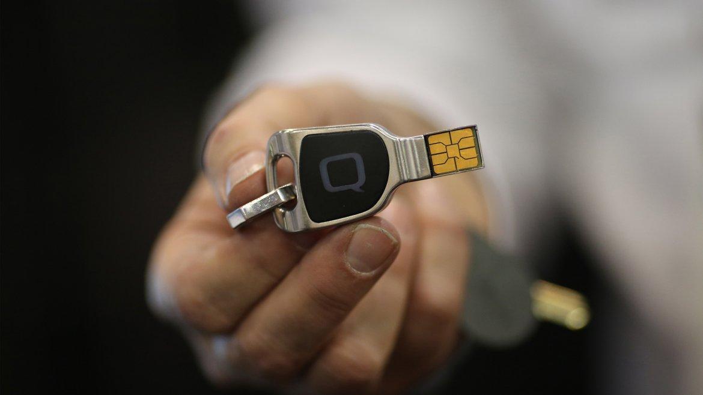 QKey, dispositivo de seguridad extraíble para proteger información personal utilizada en las compras online