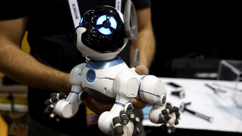 CHiP, un perro robot de la firma WowWee, es capaz de aprender diversos trucos de sus dueños