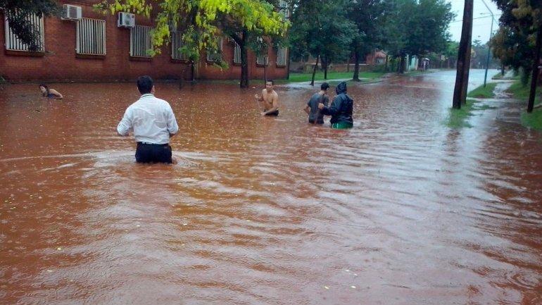 Gobernador Virasoro es una de las localidades con inundados en Corrientes