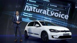 Presentación del nuevo Volkswagen e-Golf Touch electric