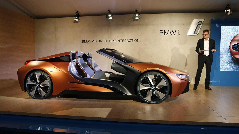 Este es el nuevo BMW i Vision Future Interaction, un concept más amigable no sólo con el medio ambiente, sino con sus  usuarios