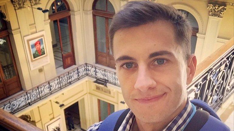 Previo a su regreso a Europa, el periodista contó qué aprendió en Argentina
