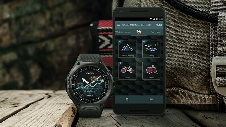 El WSD-F10 Smart Outdoor Watch de Casio