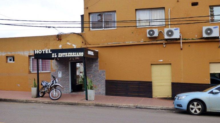 El Entrerriano, el hotel donde detuvieron a un hombre acusado de ayudar a Víctor Schillaci y los hermanos Martín y Cristian Lanatta.