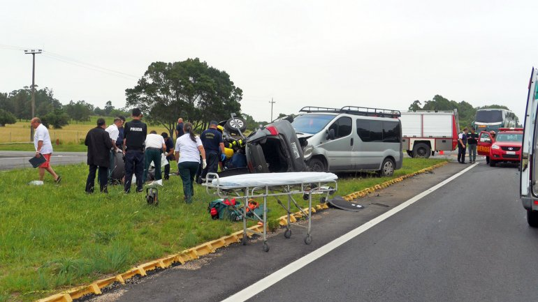Accidente fatal en Maldonado.