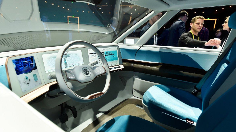 Así es el interior de la Volkswagen BUDD-e