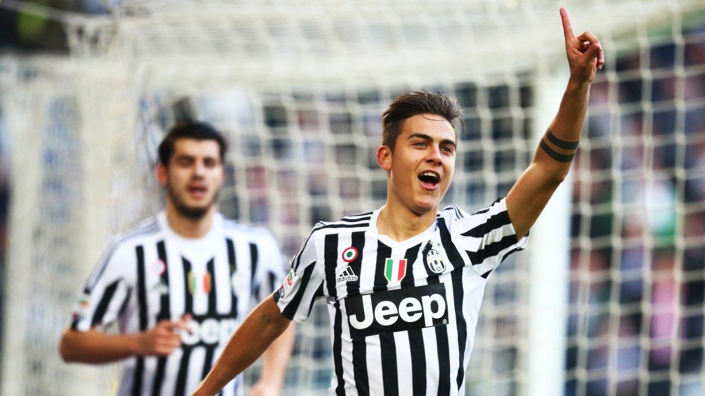 Paulo Dybala fue figura en la goleada de Juventus a Hellas Verona