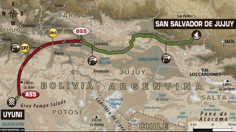 El Dakar llega a Bolivia.