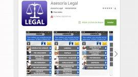 La aplicación permite contacto directo con abogados para una rápida resolución de problemas.