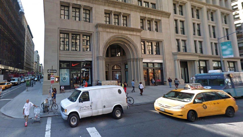 La esquina de la Quinta Avenida y la calle 20 Oeste en la actualidad