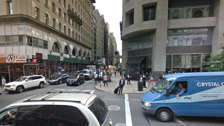 La Quinta Avenida en la intersección con la calle 36 Oeste, en la actualidad