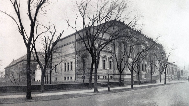 El Museo Metropolitano de Arte abrió en 1872. Esta foto se tomó 29 años antes de su inauguración