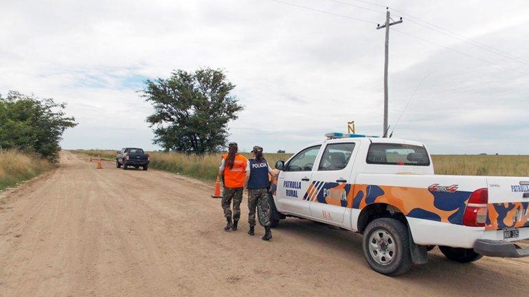 La camioneta que fue encontrada en Pila habría sido adulterada.