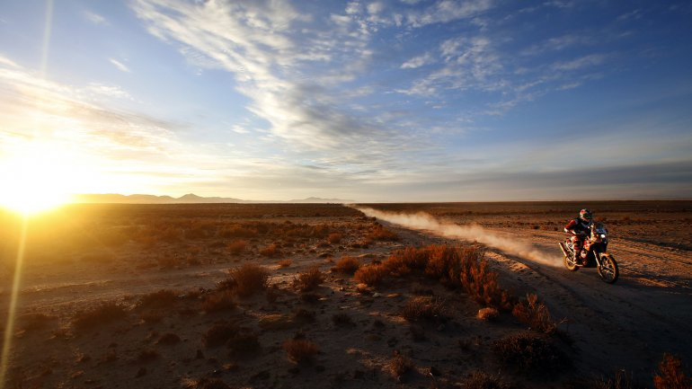 El Dakar entra en su etapa final.