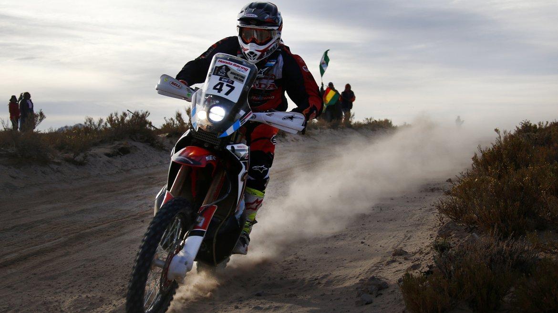 El argentino Kevin Benavides (Honda)