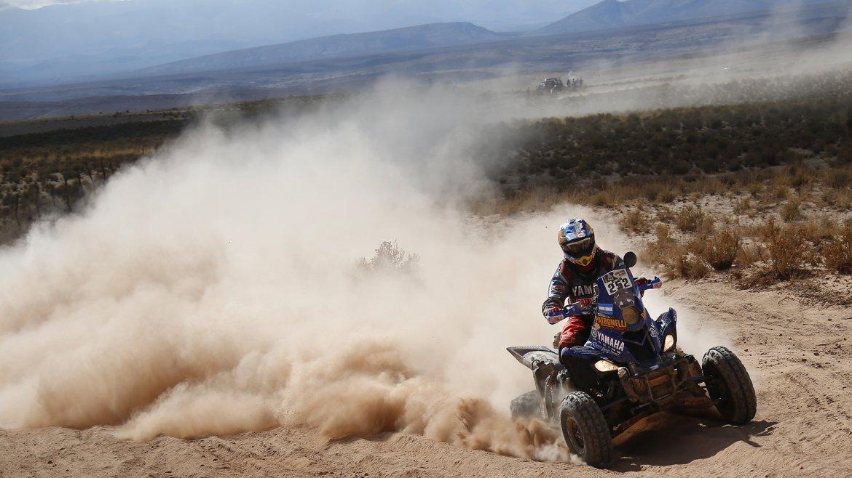 El piloto Marcos Patronelli (ARG) del equipo Yamaha