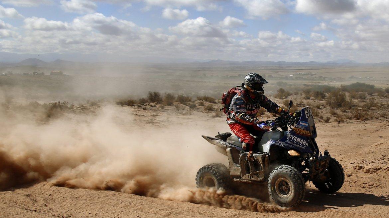 El piloto Alejandro Patronelli (ARG) del equipo Yamaha