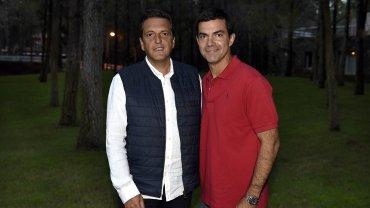 Sergio Massa y Juan Manuel Urtubey, esuvieron juntos en Pinamar el 8 de enero