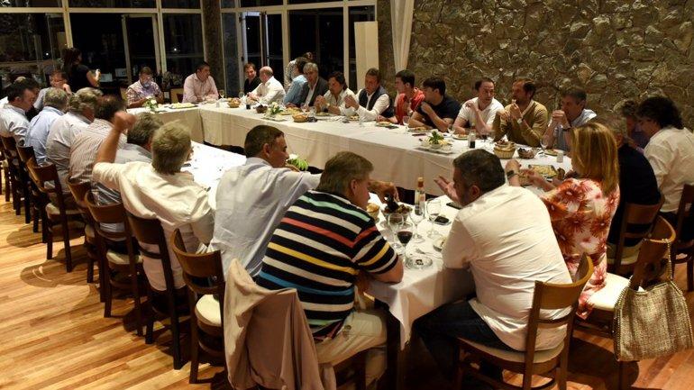 La cumbre del PJ en Pinamar