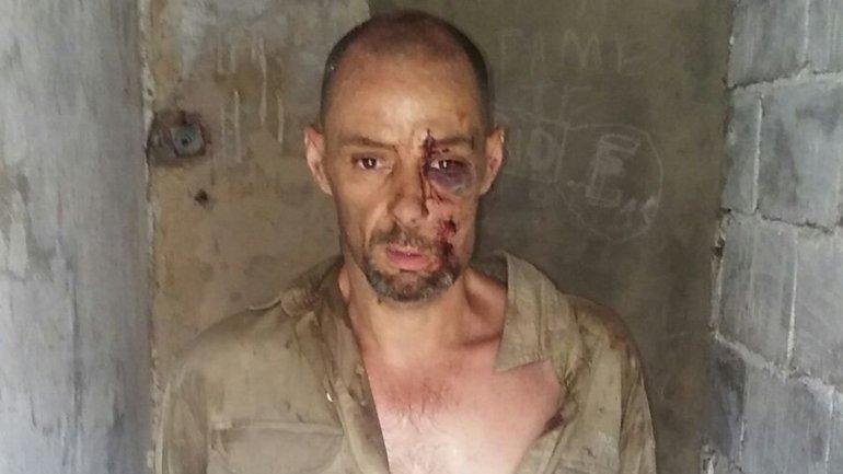 Martín Lantatta lucía demacrado al momento de su captura en el día de ayer.