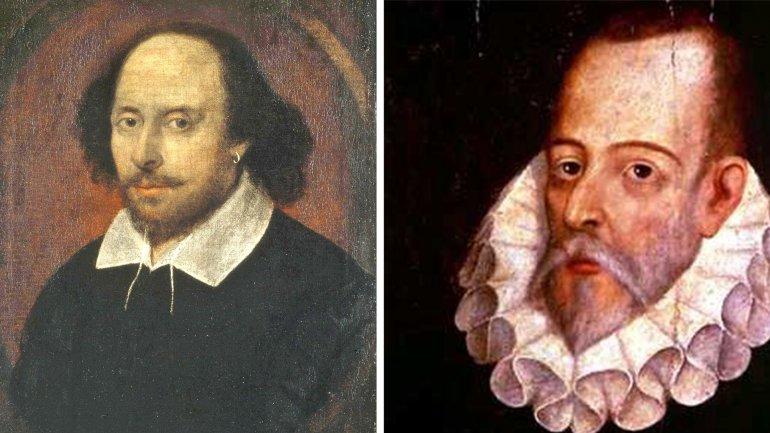 William Shakespeare y Miguel de Cervantes, fallecieron casi el mismo día, hace 400 años