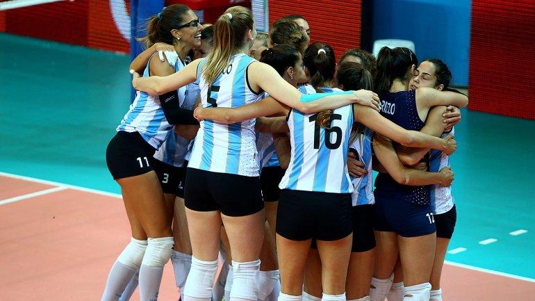 El vóley femenino argentino estará por primera vez en un juego olímpico