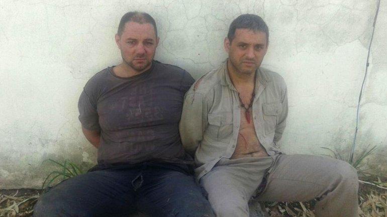 Martín Lanatta y Víctor Schillaci fueron detenidos por la policía de Santa Fe