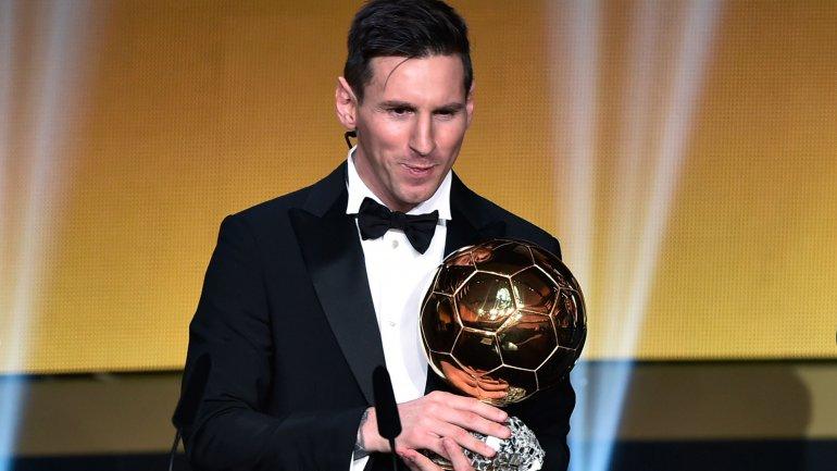El argentino Lionel Messi ganó el quinto Balón de Oro de su carrera