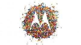 La icónica M de Motorola