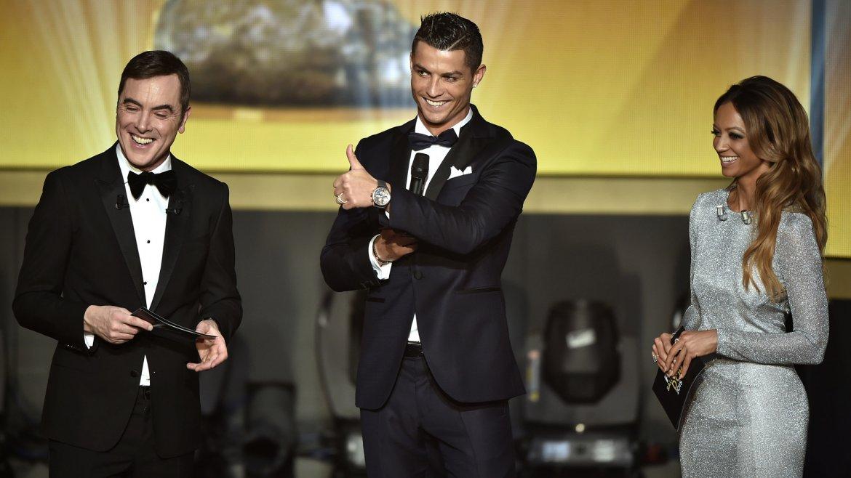 Cristiano Ronaldo fue uno de los nominados y quedó en segundo lugar