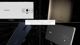 Prototipos de celulares para Proyecto Tango