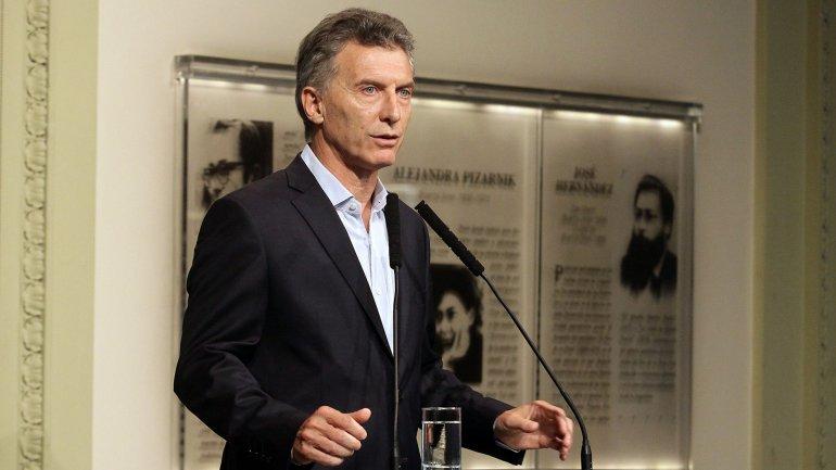 Mauricio Macri habló sobre la inflación en una sorpresiva aparición ante los periodistas de Casa Rosada