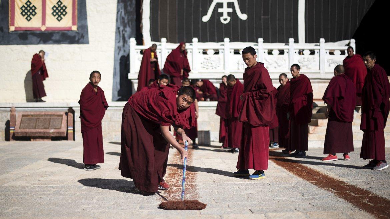 En China consideran al Dalái Lama, el líder espiritual tibetano en el exilio, como un separatista