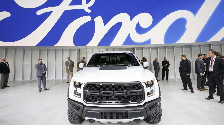Una camioneta Ford F-150 Raptor