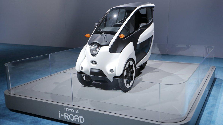El nuevo Toyota i-Road de tres ruedas