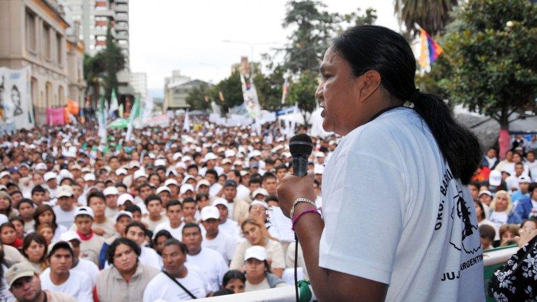 En una asamblea, Milagro Sala ratificó hoy que continuarán con las protestas.