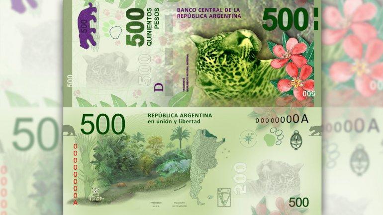 El billete de mayor denominación en la Argentina será el de $1.000 a partir de 2017.