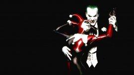 El Guasón, emblema de los villanos, y su fiel Harley Quinn