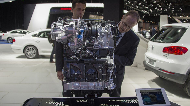 Una mirada en detalle a un motor Volkswagen 2.0L 292hp TSI
