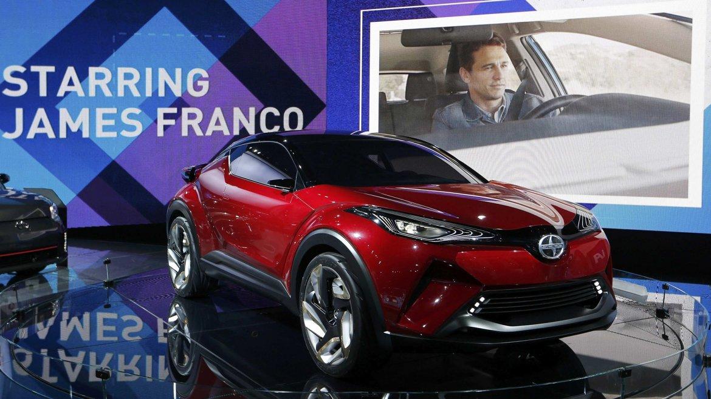 El concept car Scion C-HP, junto a otros modelos, pasarán a formar parte de la familia Toyota