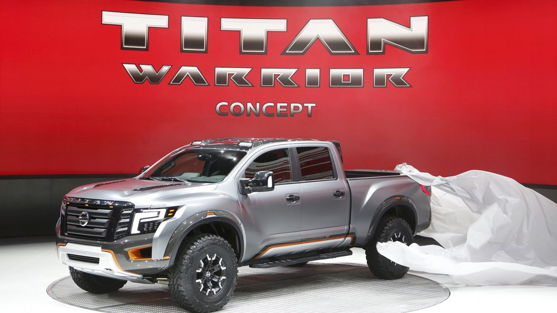 El concept truck Nissan Titan Warrior