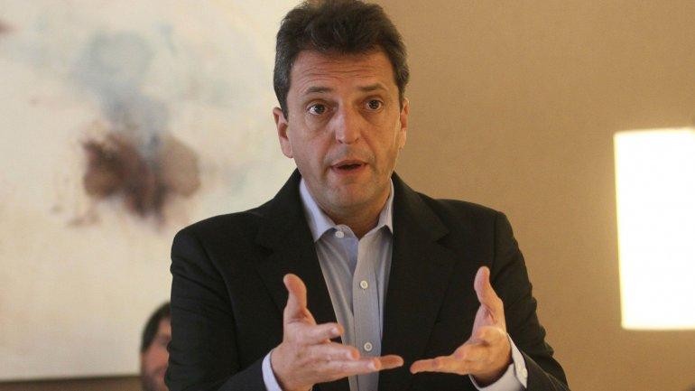 Sergio Massa: Hay que terminar con la Argentina de los rehenes de los planes