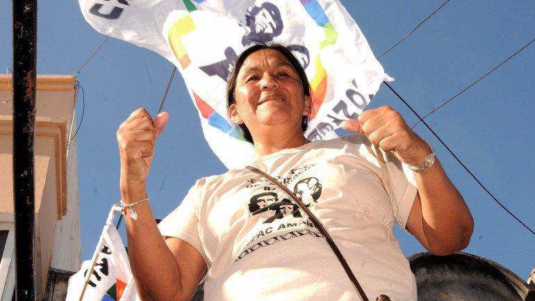 La líder de la Tupac Amaru continuará detenida