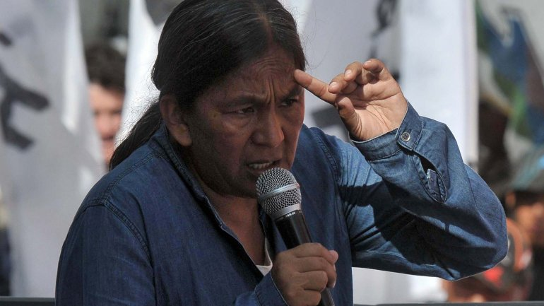 Milagro Sala sigue detenida en Jujuy tras la toma de la Plaza Belgrano