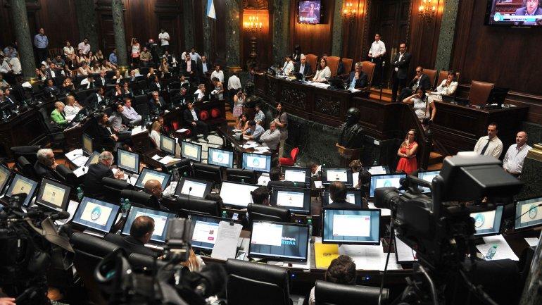 La sesión extraordinaria de la Legislatura porteña