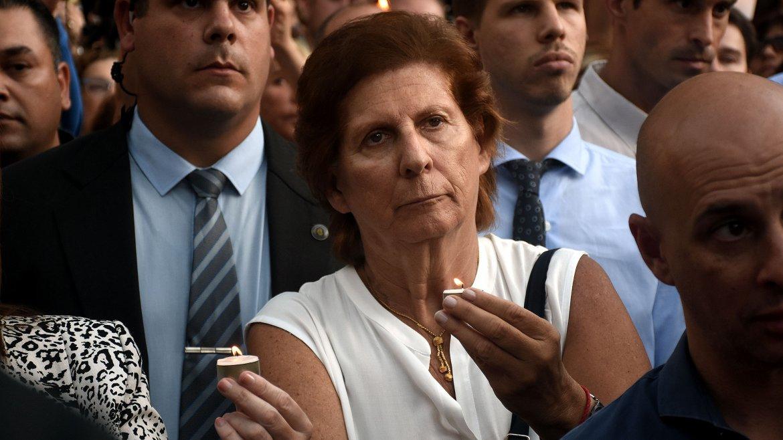La madre del fallecido fiscal, Sara Garfunkel