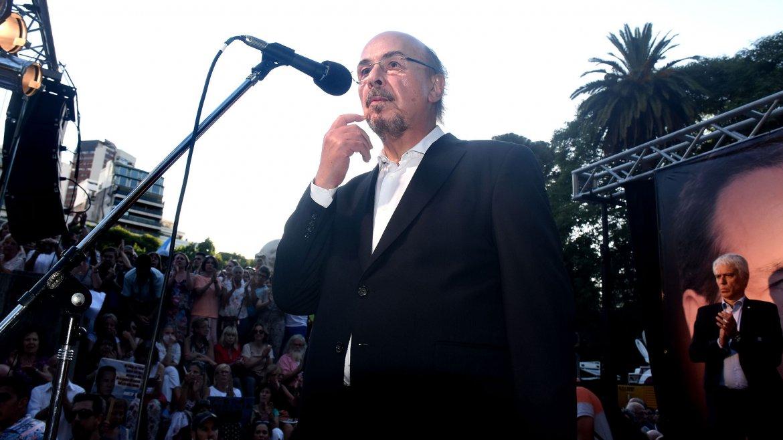 El periodista Joaquín Morales Solá fue uno de los oradores y afirmó que Nisman fue asesinado