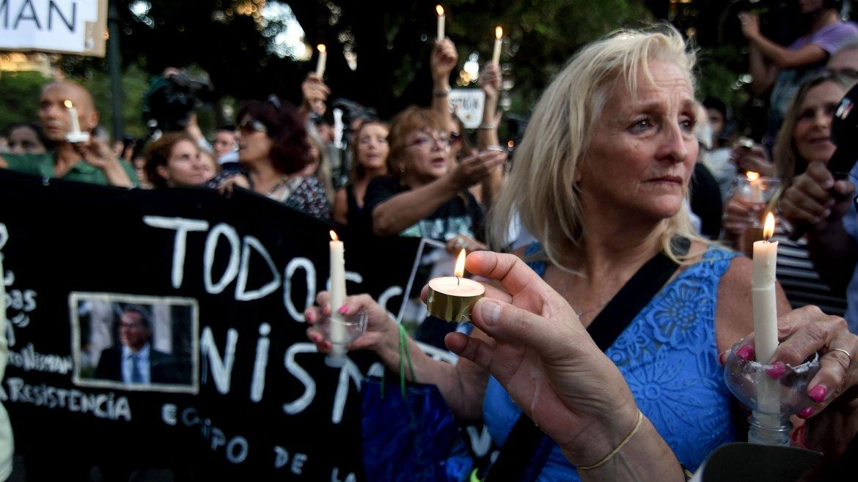 El hecho ocurrió en la víspera de su presentación en el Congreso Nacional donde debía defender su versión acerca de un presunto plan de encubrimiento encabezado por la entonces presidente Cristina Kirchner
